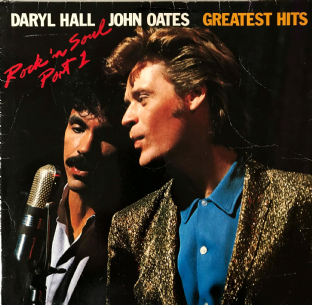 Daryl Hall & John Oates ‎- Greatest Hits: Rock 'N Soul Part 1 (LP) (G++/G-)